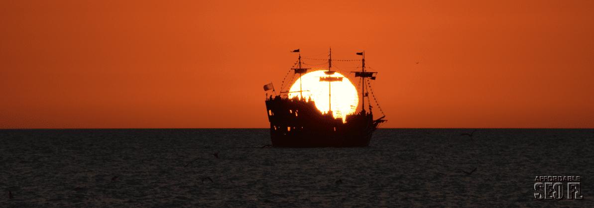 Clearwater Beach FL sunset
