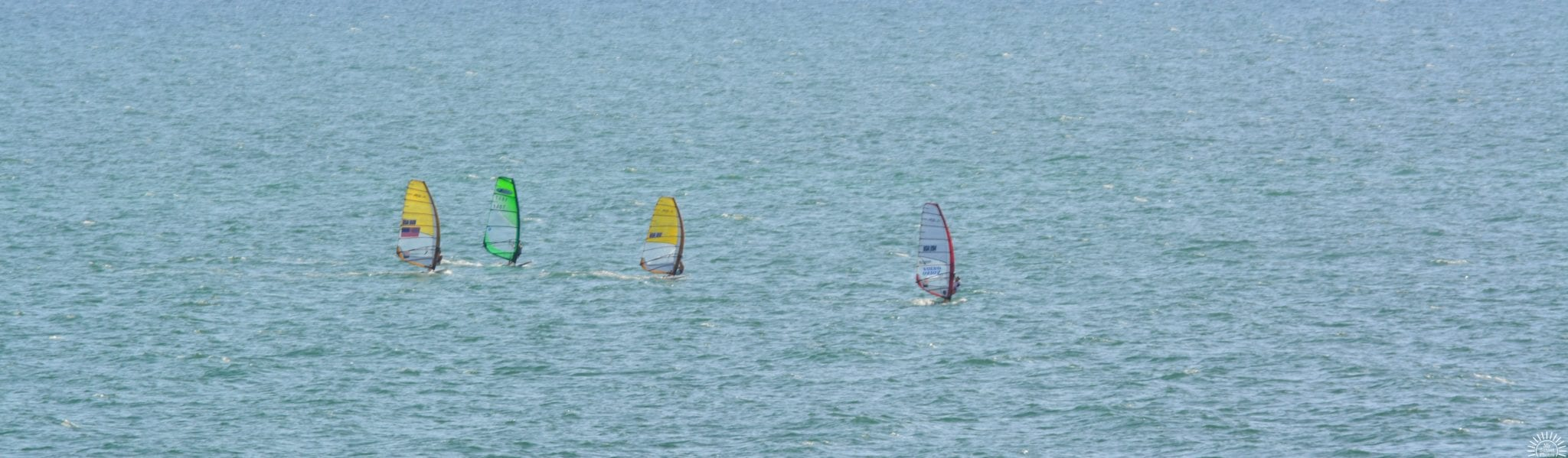 Sailing Away at Clearwater Beach