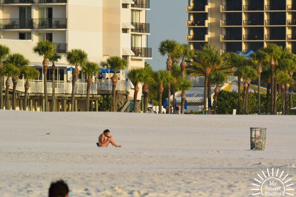 Clearwater Beach - being alone